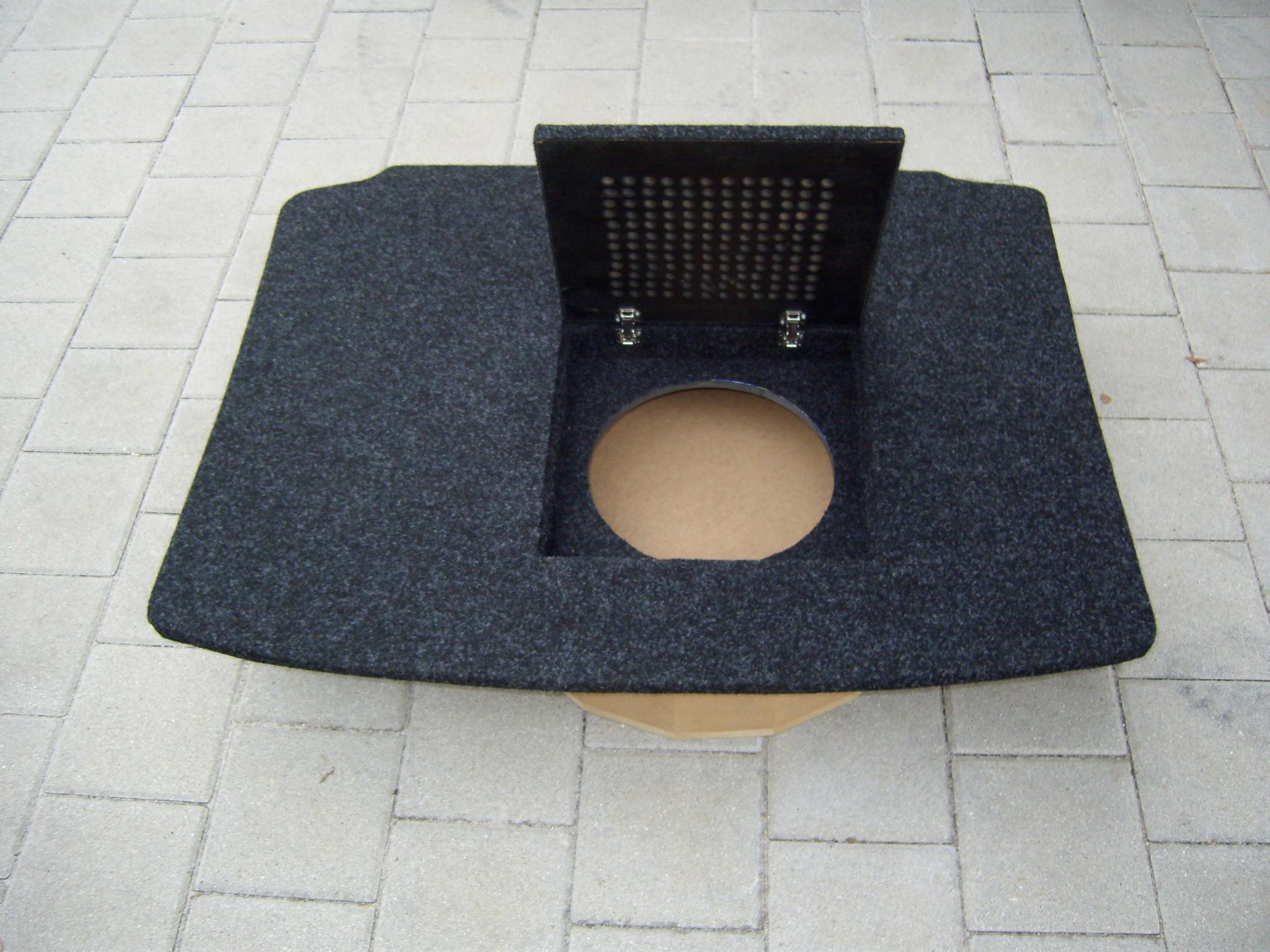 komplettausbau kofferraumausbau vw polo 6n 2. Black Bedroom Furniture Sets. Home Design Ideas